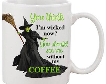 Wicked Mug Etsy