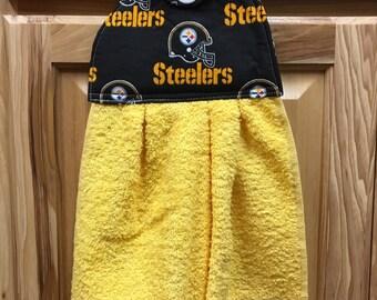 Steelers Kitchen/bathroom Hanging Towels