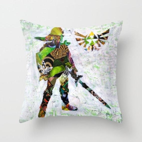 Decoration Zelda Of Legend Of Zelda Pillow Zelda Decor Zelda Accessories Link