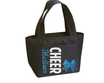Cheer Bow Lunch and Snack Tote