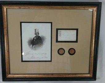 The infamous quack baron spolasco doctor trade token coins framed