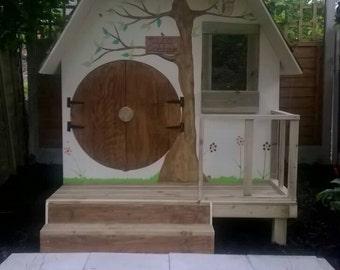 Small playhouse, hobbit style