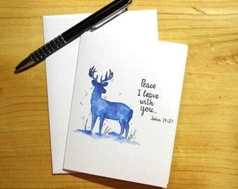 Peace Winter Notecards