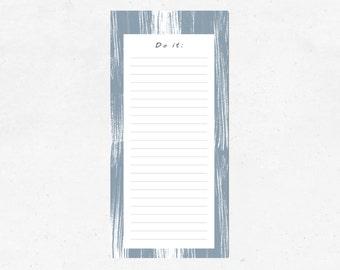 "Notepad ""Do it"", grey"