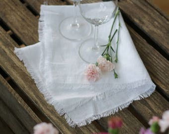 "Linen napkins, cloth napkins, sizes 12"", 14"", 16"", 18"", 20"", soft, washed linen, Wedding napkins, restaurant napkins, table cloth, linen"