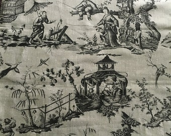 Linen toile fabric 3 3/4 yards