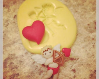 Cupid Valentines day Mold Silicone
