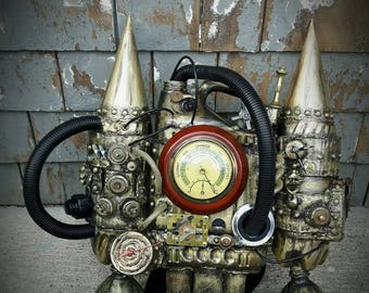 Steampunk Time Traveling Jetpack
