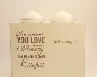 Memory Double Votive