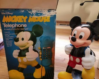 1986 Tyco Mickey Mouse Phone