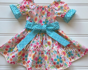 Party Dress for Girl, Toddler Dress, Girl Party Dress, Baby Girl Dress, Little Girl Dress, Summer Dress, Girl Pink Dress