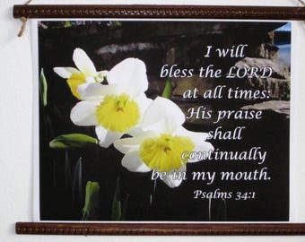 Gift Scrolls, Bless The Lord Scroll, Inspirational Gift Scroll,  Bible verse scrolls, by Hope Through Cancer
