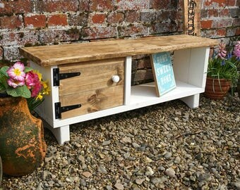 Rustic Cottage TV Television Stand