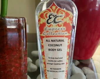 All Natural Coconut Essential Oil Body Gel Wash