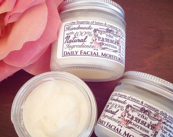 All Natural Facial Moisturizer - Organic Lotion - Face Cream - Natural Face Cream - Natural Face Lotion - Moisturizer with Essential Oils