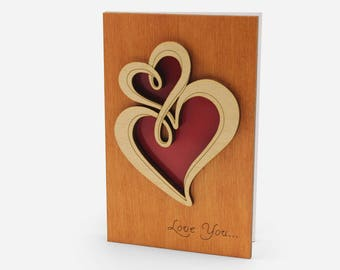 Valentine Card, Love Cards, Funny Valentine Card, 5 Year Anniversary Gift , Valentine Card Her, Valentine Card Him, Valentines Day Cards