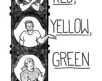 Red, Yellow, Green: an illustrated sexuality zine
