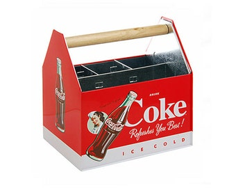 Coke Coca-Cola Utensil Bottles Caddy (NEW)