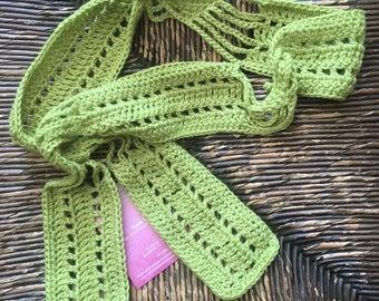 Hand Crocheted Scarflette