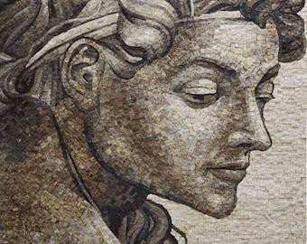 Memory - Michelangelo Mosaic Art