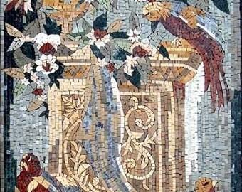 Beauty Nature Mosaic Stone Mural Art
