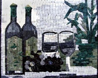 Mosaic Patterns - Vino Bottiglia