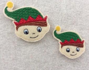 Santa's elf Feltie, Always Precut