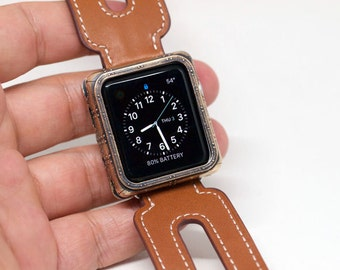 Ironclad Steampunk style 38 mm Apple Watch cover