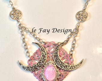 Sleeping Venus, Witches Jewelry, Witches Necklace, Venus Jewelry, Witches Pendant, Ritual Jewelry, Energized Jewelry, Magic Pendant