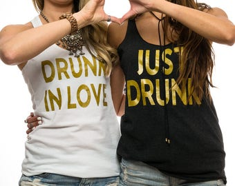 Drunk In Love. Bridal Shower. Gift For Bride To Be. Drunk-In-Love.