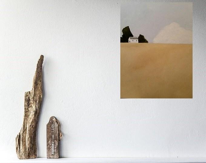 Quiet - Oil Painting - Modern Landscape -Minimalist