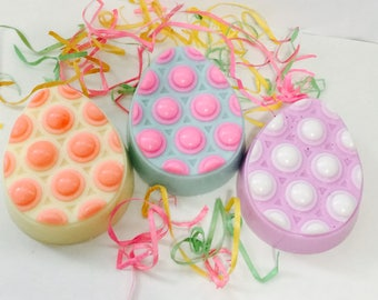 Easter Egg Shea Butter Scented Massage Bar Soap