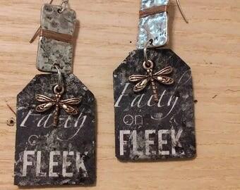 Faith On Fleek Earrings