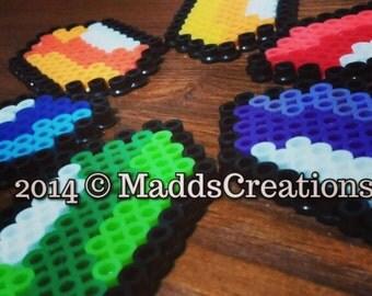 Rupees - Perler Beads