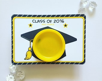 Graduation playdoh cards