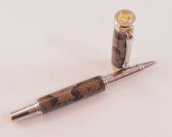 Copperhead Skin Rollerball Pen