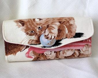 Kitty Cat Clutch Wallet