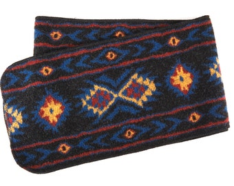Aztec Traditional Scarf, long scarf, traditional scarf, polar mitts scarf, polar mitts, polarmitts