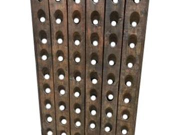 Antique French Wine Rack/Wine Storage