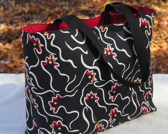 More Chickens! Premium Cotton Tote
