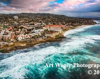 La Jolla Coastline Fine Art Photograph