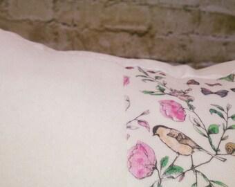 100 % ORGANIC cushion cover Parisian Chic