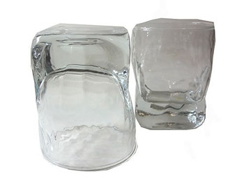 YARD SALE....On The Rocks Icy Glasses