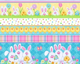 Hippitty Hop Fabric by Henry Glass