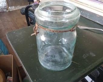 Atlas E – Z Seal #7 pint canning jar