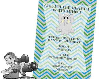 Elephant Invites