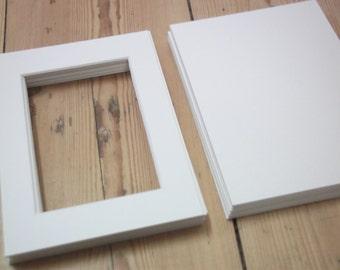 aceo mat - matboard - custom matting - picture matting - custom photo mats - aceo frame - backing board - photo mats - 5 x 7 photo mat