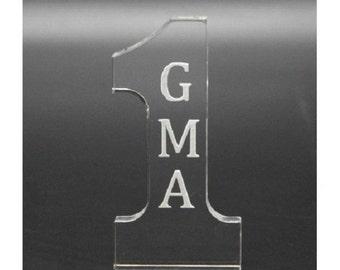Fixture Displays Number 1 GRANDMA Tabletop Gift 11617-GMA