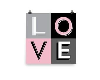 LOVE | Art Print