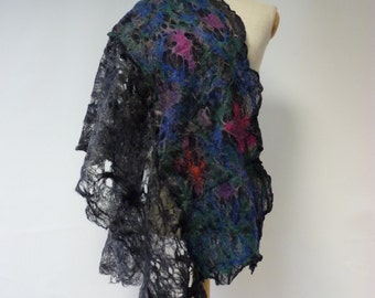 Special price. Boho handmade shawl. Perfect for gift.